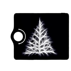 Christmas fir, black and white Kindle Fire HDX 8.9  Flip 360 Case