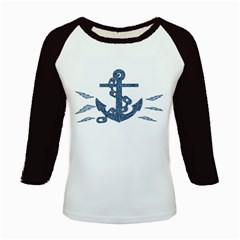 Anchor Pencil drawing art Kids Baseball Jerseys