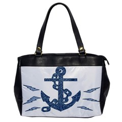 Anchor Pencil drawing art Office Handbags