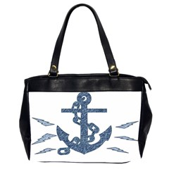 Anchor Pencil drawing art Office Handbags (2 Sides)