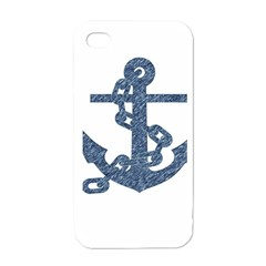Anchor Pencil drawing art Apple iPhone 4 Case (White)