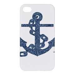 Anchor Pencil drawing art Apple iPhone 4/4S Hardshell Case