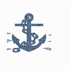 Anchor Pencil drawing art Small Garden Flag (Two Sides)