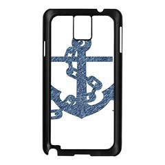 Anchor Pencil drawing art Samsung Galaxy Note 3 N9005 Case (Black)