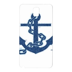 Blue Anchor Oil painting art Samsung Galaxy Note 3 N9005 Hardshell Back Case