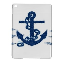 Blue Anchor Oil painting art iPad Air 2 Hardshell Cases