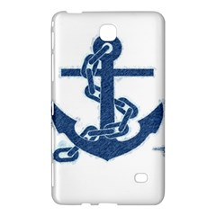 Blue Anchor Oil painting art Samsung Galaxy Tab 4 (7 ) Hardshell Case