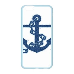 Blue Anchor Oil painting art Apple Seamless iPhone 6/6S Case (Color)