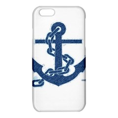 Blue Anchor Oil painting art iPhone 6/6S TPU Case