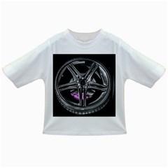 Bord Edge Wheel Tire Black Car Infant/Toddler T-Shirts