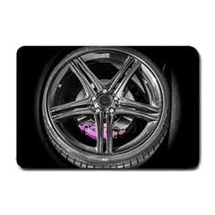 Bord Edge Wheel Tire Black Car Small Doormat