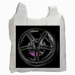 Bord Edge Wheel Tire Black Car Recycle Bag (Two Side)
