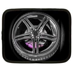 Bord Edge Wheel Tire Black Car Netbook Case (XXL)