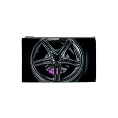 Bord Edge Wheel Tire Black Car Cosmetic Bag (Small)