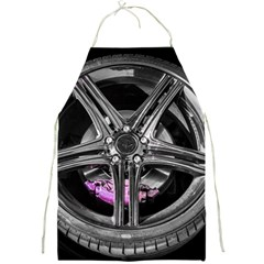 Bord Edge Wheel Tire Black Car Full Print Aprons