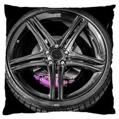 Bord Edge Wheel Tire Black Car Large Cushion Case (One Side)
