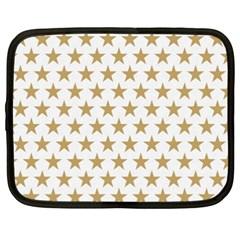 Golden stars pattern Netbook Case (XXL)
