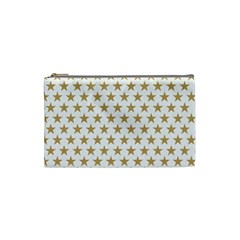 Golden stars pattern Cosmetic Bag (Small)