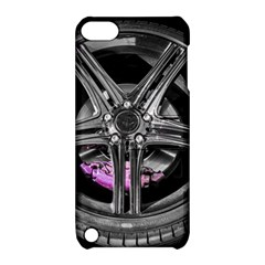 Bord Edge Wheel Tire Black Car Apple iPod Touch 5 Hardshell Case with Stand