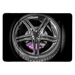 Bord Edge Wheel Tire Black Car Samsung Galaxy Tab 8.9  P7300 Flip Case