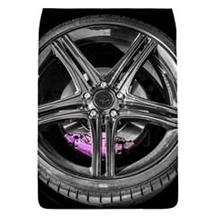Bord Edge Wheel Tire Black Car Flap Covers (L)