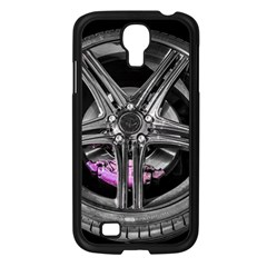 Bord Edge Wheel Tire Black Car Samsung Galaxy S4 I9500/ I9505 Case (Black)