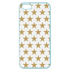Golden stars pattern Apple Seamless iPhone 5 Case (Color)
