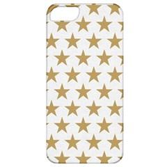 Golden stars pattern Apple iPhone 5 Classic Hardshell Case
