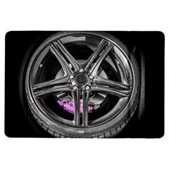 Bord Edge Wheel Tire Black Car iPad Air Flip