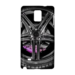 Bord Edge Wheel Tire Black Car Samsung Galaxy Note 4 Hardshell Case