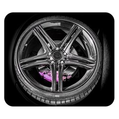 Bord Edge Wheel Tire Black Car Double Sided Flano Blanket (Small)