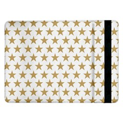 Golden stars pattern Samsung Galaxy Tab Pro 12.2  Flip Case