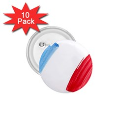 Tricolor banner france 1.75  Buttons (10 pack)