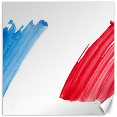 Tricolor banner france Canvas 20  x 20