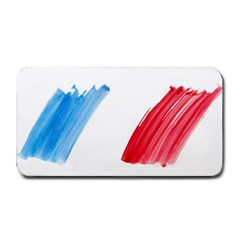 Tricolor banner france Medium Bar Mats