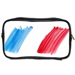 Tricolor banner france Toiletries Bags 2-Side