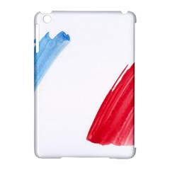 Tricolor banner france Apple iPad Mini Hardshell Case (Compatible with Smart Cover)