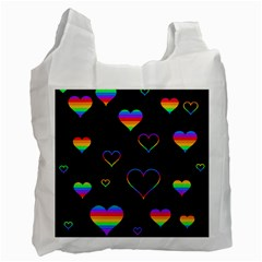 Rainbow harts Recycle Bag (Two Side)