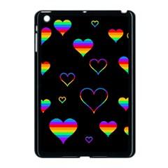 Rainbow harts Apple iPad Mini Case (Black)