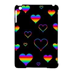 Rainbow harts Apple iPad Mini Hardshell Case (Compatible with Smart Cover)