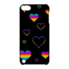 Rainbow harts Apple iPod Touch 5 Hardshell Case with Stand