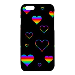 Rainbow harts iPhone 6/6S TPU Case
