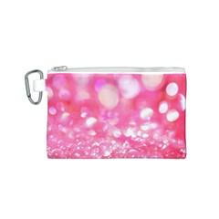 Pink diamond Canvas Cosmetic Bag (S)