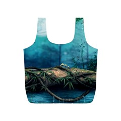 Mysterious fantasy nature Full Print Recycle Bags (S)