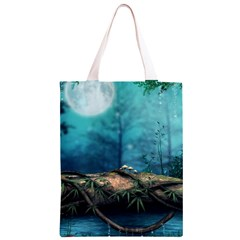Mysterious fantasy nature Classic Light Tote Bag