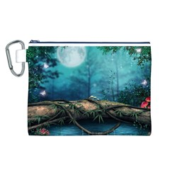 Mysterious fantasy nature Canvas Cosmetic Bag (L)