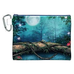 Mysterious fantasy nature Canvas Cosmetic Bag (XXL)