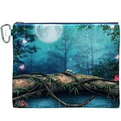 Mysterious fantasy nature Canvas Cosmetic Bag (XXXL)