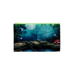 Mysterious fantasy nature Cosmetic Bag (XS)