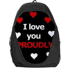 I love you proudly Backpack Bag
